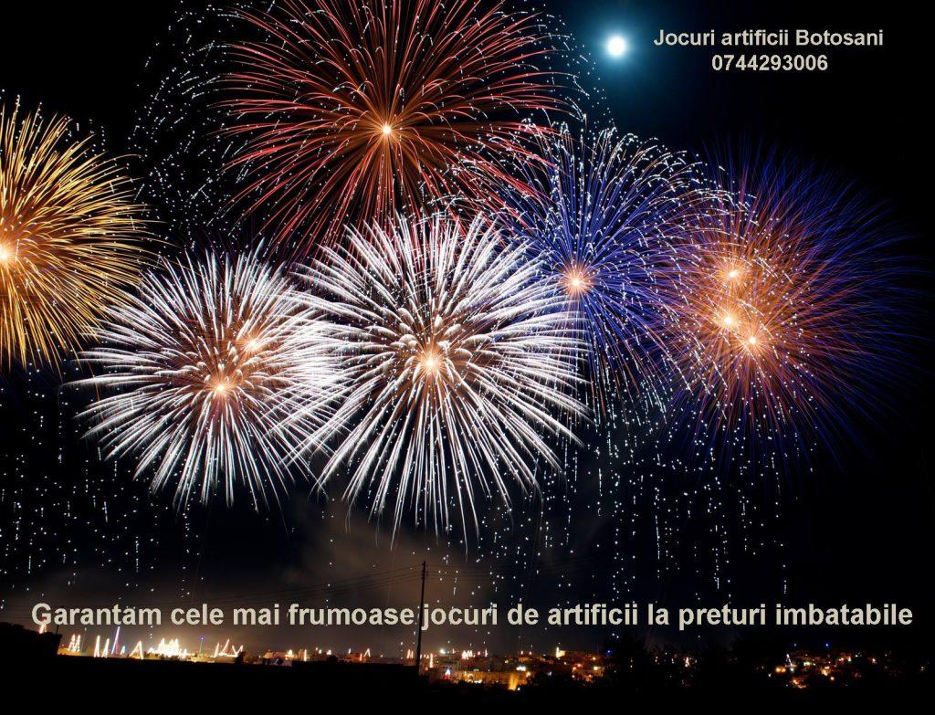 artificii evenimente botosani